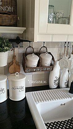 Landelijke keuken spulletjes