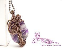 One-Eyed Owl Dark Purple Fluorite