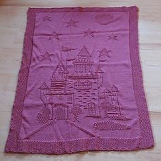 Ravelry: Enchanted Castle Afghan pattern by Nicky Epstein