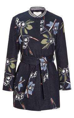 Tropical Allure Dresscoat by Dorothee Schumacher for Preorder on Moda Operandi