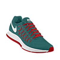 I designed the teal, red and white Nike Air Zoom Pegasus 32 iD men's running shoe. Nike Co, Nike Air Zoom Pegasus, Custom Shoes, Running Shoes For Men, White Nikes, My Design, Teal, Sneakers Nike, Fashion