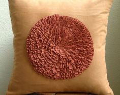 Luxury Purple Decorative Pillows Cover 16x16 by TheHomeCentric