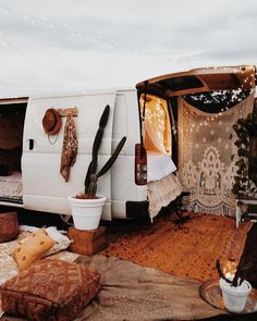This looks like the perfect boho inspired hangout.