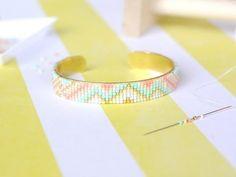 La Petite Epicerie - Bracelet manchette en Miyuki