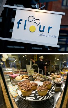 Flour Bakery, Fort Point neighborhood, Boston: Everything I've tried has been delicious! Famous for their sticky buns.