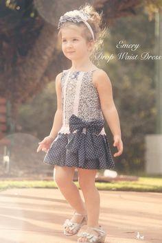 New Dress Release - Vintage Dress Pattern - Emery Drop Waist Dress Pattern - Instant Download on Etsy, $10.00