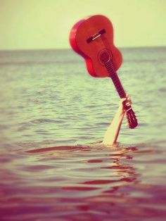 S.O.S.  #guitar #music #sea #summer #hardrock