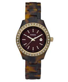 Fossil Watch, Women's Stella Tortoise