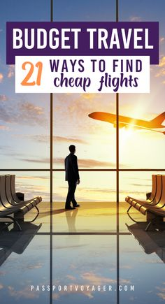 Is one of your goals to travel more this year? Check out these budget-friendly hacks to finding the best cheap flights - EVERY time! This super helpful guide includes 21 of some of the smartest & most creative secret hacks for finding cheap flights (shared by travel experts) that will help you explore the world more. #cheapflights #budget #budgeting #newyear #resolutions #goals #travelmore #budgettravel #travel
