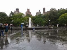 The legendary fountain, pretty cool. Someone I met my first weekend said they used to swim in it as a child