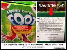 Fruit by the Foot Toxic Ingredients