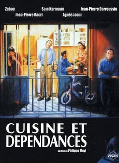"""cuisine et dépendances"""" Avec Agnès Jaoui, Jean-Pierre Baccri"""