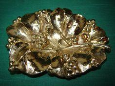 Vintage Virginia Metalcrafters VMC brass mistletoe by kelatfarm