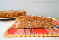 Torta al cocco e pere Ricetta dolce vegano Senza uova e senza grassi aggiunti Alice nella cucina delle meraviglie