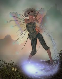 Fairy Magic by CaperGirl42.deviantart.com