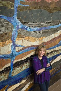 Strata installed in the Woodlands, THE ARTIST DIXIE FRIEND GAY
