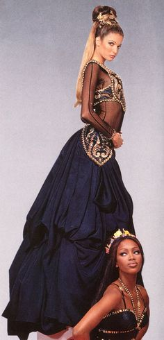 Gianni Versace Haute Couture Atelier, fall 1992