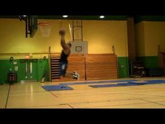 "In the Gym With Brandon Todd, 5'5"" Dunking Machine"