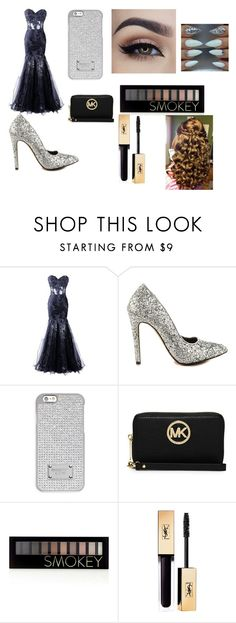 """""""prom princess"""" by daisy-788 on Polyvore featuring Michael Antonio, MICHAEL Michael Kors and Forever 21"""