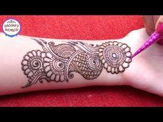 Eid special henna design for hands Henna Tattoo Designs, Henna Tattoos, Floral Henna Designs, Henna Tattoo Kit, Mehandi Designs, Tattoo Ink, Leg Tattoos, Arm Tattoo, Sleeve Tattoos