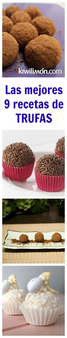 El postre más fácil de hacer y que no necesita horno son las trufas de chocolate. No te compliques con el postre y prepara esta delicia para todos tus seres queridos.: