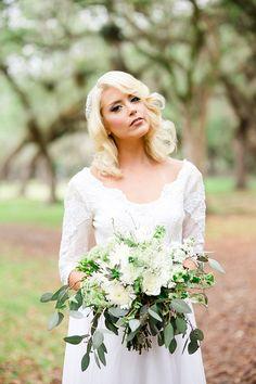 romantic summer wedding inspiration | Vanessa Velez Photography | Glamour & Grace