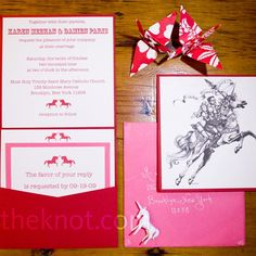 Unicorn-Themed Wedding Invitations… I just can't                              …