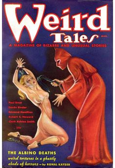 Cover art by the great Margaret Brundage, queen of pulp cover art...