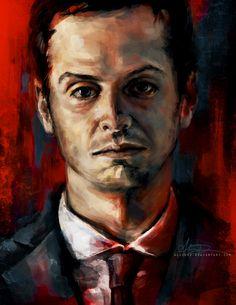 Beautiful Sherlock Portrait Series by Alice X. Zhang