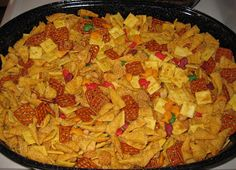 John Deere Mom: Best Party Mix Recipe Ever