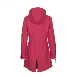 Ilse Jacobsen softshell coat 3/4 - sweet rose