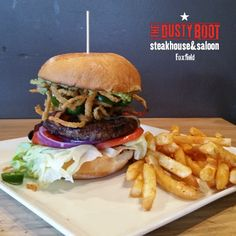 Start the New Year out right with quality food from The Dusty Boot Foxfield. Mon-Fri from 11am-1pm, we have a deal to make sure you eat right for lunch. We've discounted our all natural, hormone free burgers for lunch. These #Colorado #angus   #beef patties are worth every penny, so save a few and stop on in and enjoy one today.