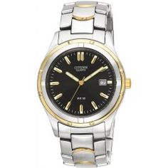 Đồng hồ nam cao cấp Citizen Watch, Men's Two Tone Stainless Steel Bracelet 38mm BK2284-54H