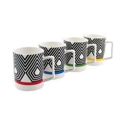 Salt & Peper My Cup Spectrum Coffee Mugs