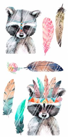 Little animals clipart boho Little Miss Sunshine, Rose Marie, Watercolor Images, Woodland Animals, Tumbler, How To Draw Hands, Owl, Clip Art, Glitter