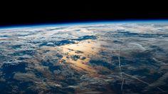 Jeff Williams, astronaut on ISS, sunrise over the Atlantic