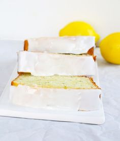 iced gluten free lemon zucchini bread gluten free baking gluten free ...