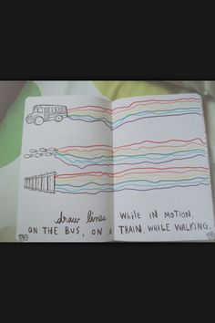 Wreck this journal page