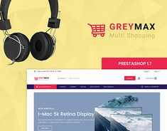 GrayMax - The Multi Shopping Template Ecommerce Website Design, Website Themes, Stuffing, Web Design, Photoshop, Templates, Places, Check, Projects
