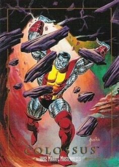 Marvel Masterpieces Series 1 1992 [Marvel- Skybox] Card Set, Issue #0014a.