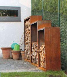 Outdoor Firewood Rack, Firewood Holder, Firewood Storage, Outdoor Storage, Eden Wood, Open Plan Kitchen Living Room, Lean To, Backyard, Patio