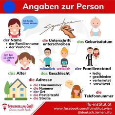 Study German, German English, Learn German, Learn English, English Grammar For Kids, German Grammar, German Words, Afrikaans Language, Deutsch Language