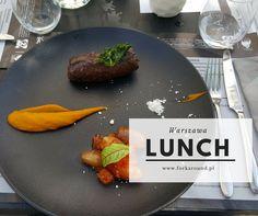 Kolejny zestaw lunchy w Warszawie! Chcesz się dowiedzieć jak karmią w trakcie lunchu? Bardzo dobrze trafiłeś! Dziś ĆMA, SAM, Aioli