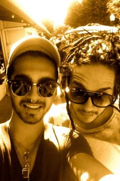 Bill & Tom Kaulitz!!!... Tom's dreads!