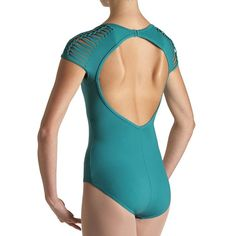 79f9797311 L53002 – Bloch Escape Spliced Cap Womens Leotard Cool and different leo  Leotards