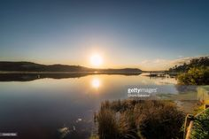 Morning in Knysna Lagoon, South Africa | Western Cape, South Africa | #stockphotos #gettyimages #print #travel