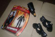 D.C. Comics Batman & Robin Cycles, Catwoman figure  #DCComics