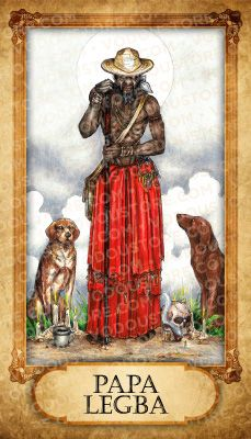 Hoodoo Magick Rootwork:  #Papa #Legba Prayer Card. Pap Legba plays an important role in Spell For Sophia, Book 4, The Teen Wytche Saga, by Ariella Moon. http://www.AriellaMoon.com