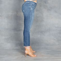 f71efcc584a5 Mother Jeans The Insider Crop Step Fray Gypsy