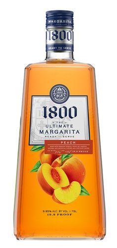 1800 The Ultimate Margarita Peach Liqueur Peach Margarita, Perfect Party, Happy Hour, Rum, Vodka, Catering, Alcoholic Drinks, Margaritas